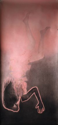 """""""Sans titre"""" 2012  pastel (80 x 120 cm)"""