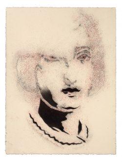 """""""Sans titre"""" 2017 Pastel sur papier (33 x 50 cm"""