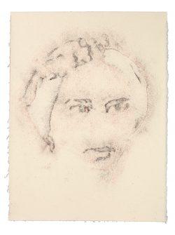 """""""Sans titre"""" 2017 Pastel sur papier (33 x 50 cm)"""