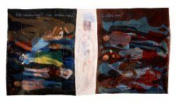 """""""Avec Gauguin"""" 2015, (4,50m x 2.20m)"""