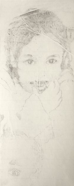 2015, fusain sur papier (26x50cm)