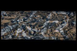 """""""La guerre"""" (Dommages collatéraux) 2018-2019 (5,50 x 2m)"""