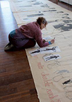 Mylène Besson, 2015 à la cité des arts