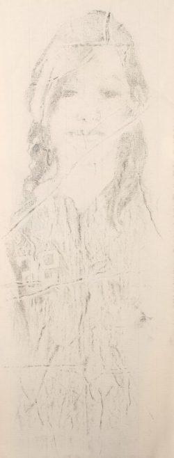 2015, fusain sur papier (20x50cm)
