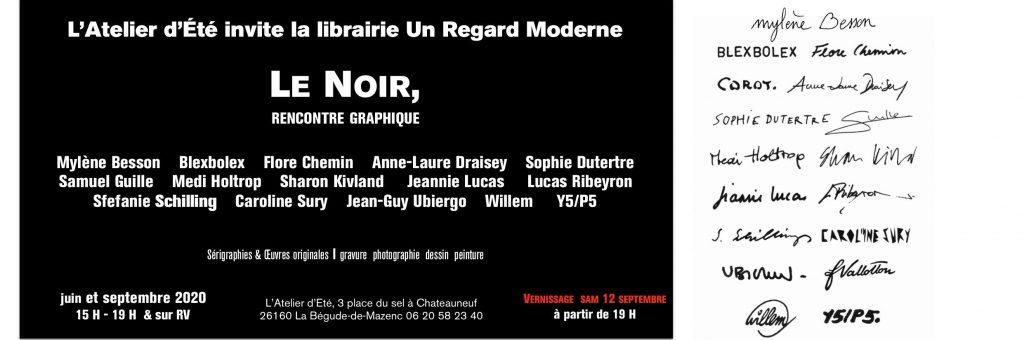 2020 expo Le Noir La Begude de Mazenc