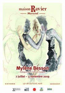 Maison Ravier - Affiche Mylène Besson